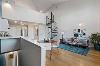 Multi-Level Live-Work Loft — Great Separation Of Space … all accessible without sharing hallways