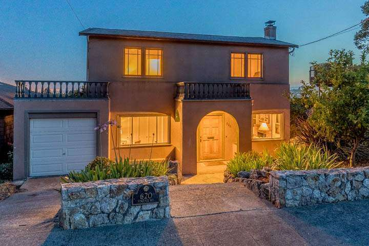 620 Vincente — View Home in Berkeley's Thousand Oaks Neighborhood