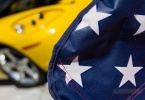 kensington-ca-kensington-car-meet-kensington-chevron-service-station-304-arlington-yellow-car-american-flag-stars-1