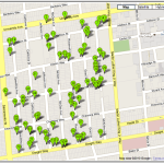 Central Berkeley's McGee Spaulding Tract Map