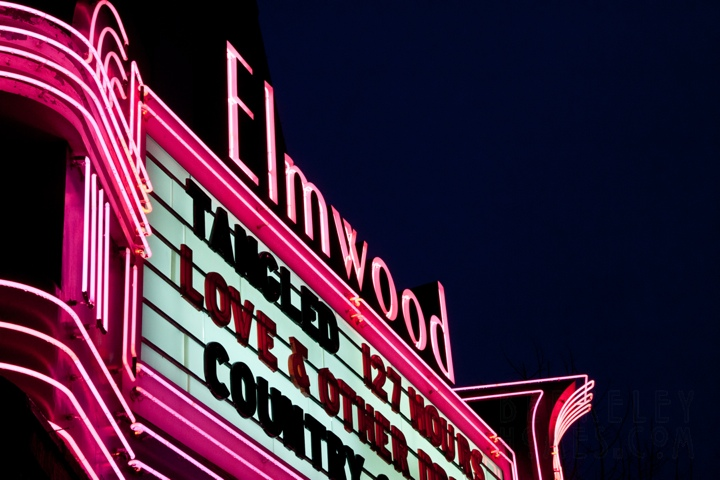 neon-berkeley-ca-elmwood-neighborhood-theater-elmwood-2966-college-avenue-movie-tangled