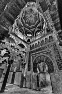 spain-cordoba-mezquita-mihrab-6-1-b-w