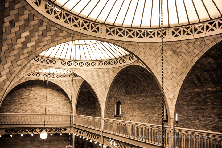 Berkeley Uc Hearst Mining Building Guastavino Tile Vaulted